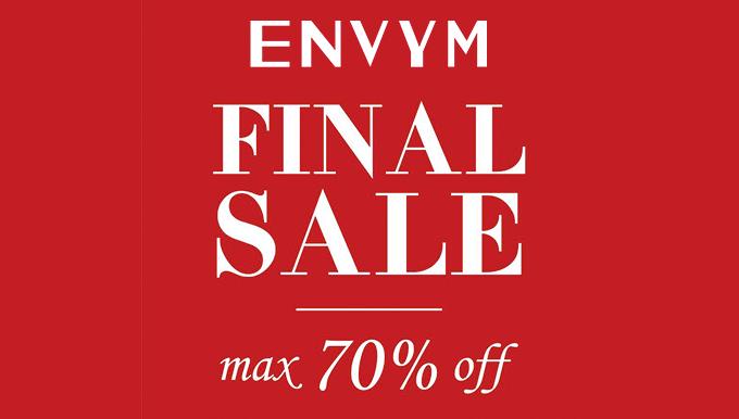 ENVYM福岡PARCO 1/10(水)〜FINAL SALE!!
