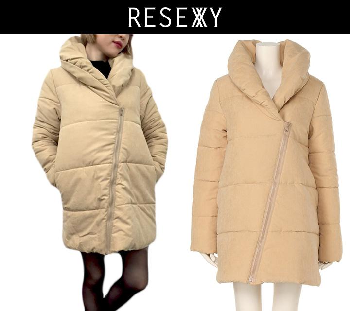 RESEXXY ネックウォーム 中綿コート