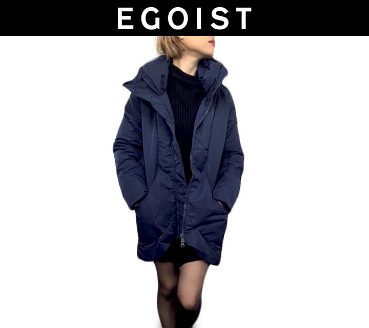 EGOIST ボリュームネック中綿コート