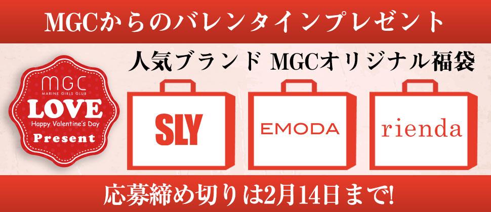 MGCバレンタインプレゼント!応募期間2月1日〜2月14日