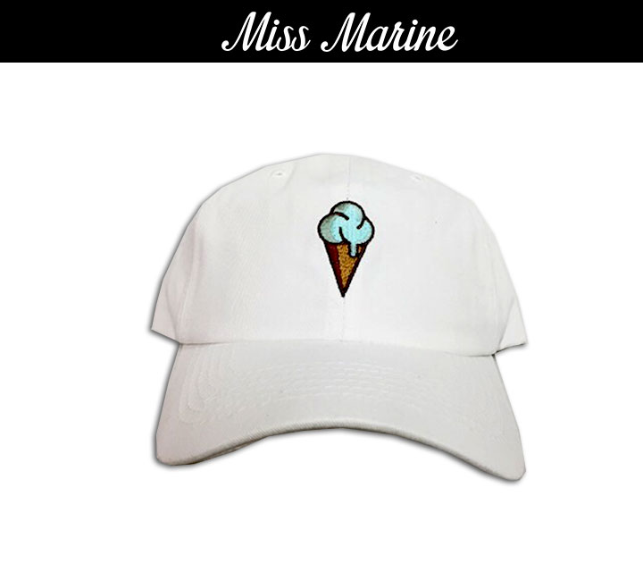 Miss Marine Ice Cream cap