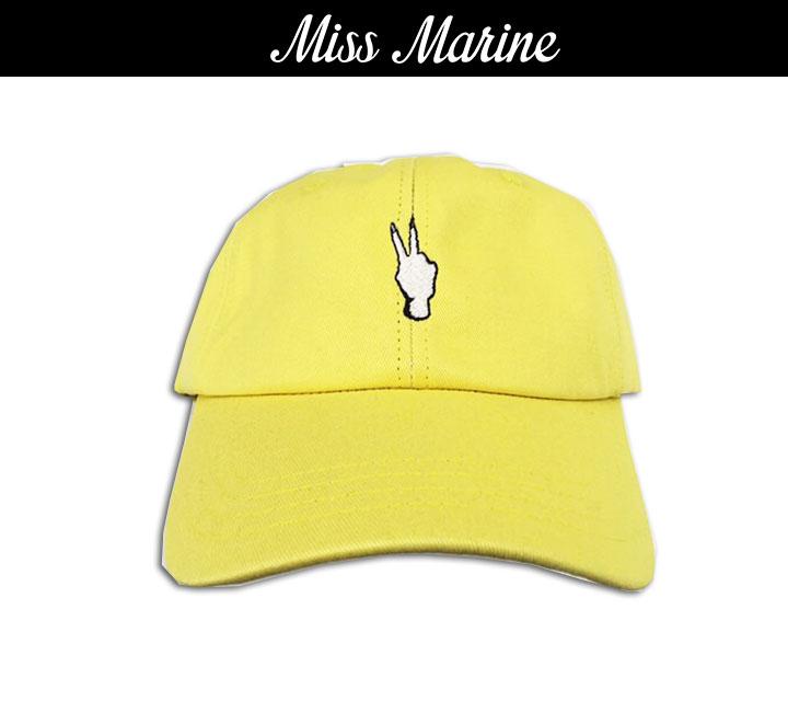 Miss Marine fxxkpeace cap