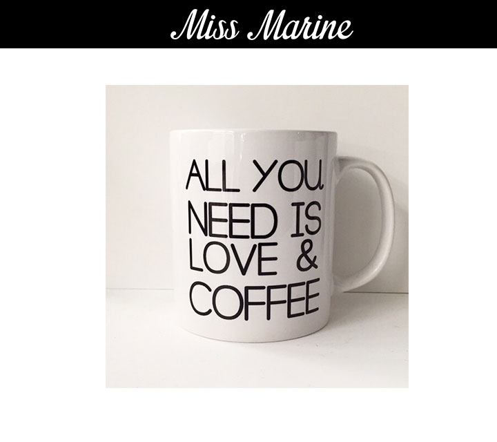 MissMarine NEED IS LOVE Mug