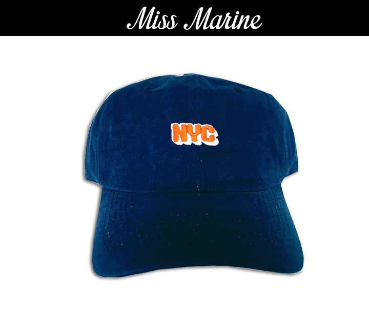 Miss Marine NYC cap