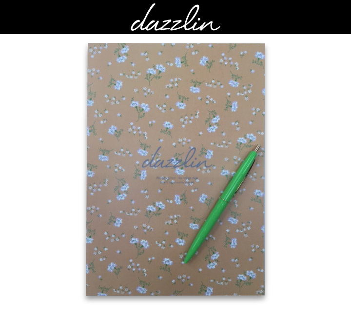dazzlin オリジナル ペン&ノート【5名様】