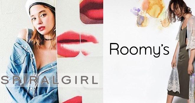 Roomy's / SPIRALGIRL 熊本パルコ